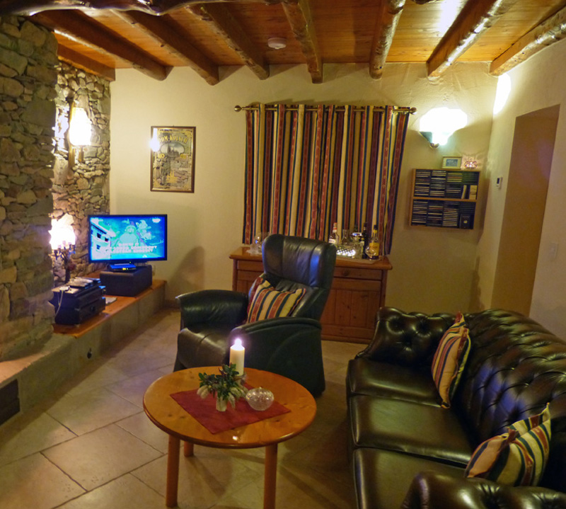 A Grá mo Croí, Wohnzimmer, Ferienhäuser mit Meerblick mieten in Irland - Cottages mit Seeblick mieten entlang des Ring of Kerry in Irland