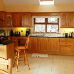 Ferienhaus, Kerry, Irland, Ard na Gaoithe, Küche. Ferienhäuser mit Meerblick mieten in Irland - Cottages mit Seeblick mieten entlang des Ring of Kerry in Irland