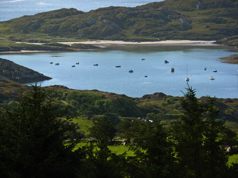 Ferienhaus, Kerry, Irland, Ard na Gaoithe, Die Bucht, Ferienhäuser mit Meerblick mieten in Irland - Cottages mit Seeblick mieten entlang des Ring of Kerry in Irland