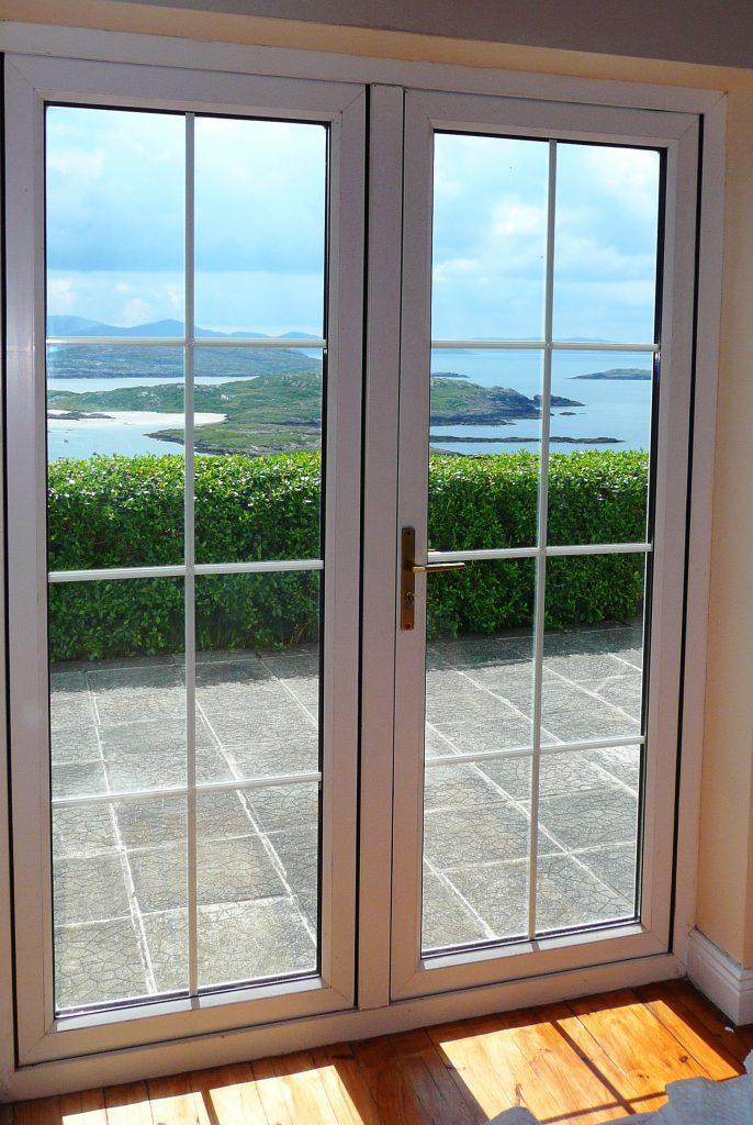 Ferienhaus, Kerry, Irland, Batts Cottage, Meerblick Schlafzimmer 1, Bild 2, Ferienhäuser mit Meerblick mieten in Irland - Cottages mit Seeblick mieten entlang des Ring of Kerry in Irland