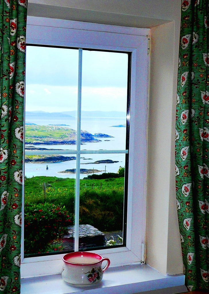 Ferienhaus, Kerry, Irland, Batts Cottage, Küche P.4, Ferienhäuser mit Meerblick mieten in Irland - Cottages mit Seeblick mieten entlang des Ring of Kerry in Irland