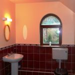 Ferienhaus, Kerry, Irland, Dellwood Lodge, Bad 2, Ferienhäuser mit Meerblick mieten in Irland - Cottages mit Seeblick mieten entlang des Ring of Kerry in Irland