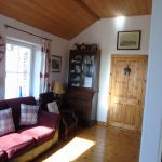 Holiday Cottage in Ireland. Heather Cottage, Living Room with Sea View