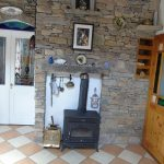 The Kitchen Stove in Heather Cottage