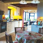 Holiday Home, Kerry, Ireland, A Grá mo Croí, Kitchen with Sea and Mountain Views, Rent a Cottage in Ireland along the Ring of Kerry