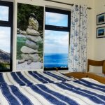 Holiday Home, Kerry, Ireland, A Grá mo Croí, Ground-Floor-Bedroom 1 with Sea and Mountain Views, Rent a Cottage in Ireland along the Ring of Kerry