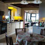 Ferienhaus, Kerry, Irland, A Grá mo Croí, Küche mit Meerblick, Ferienhäuser mit Meerblick mieten in Irland - Cottages mit Seeblick mieten entlang des Ring of Kerry in Irland