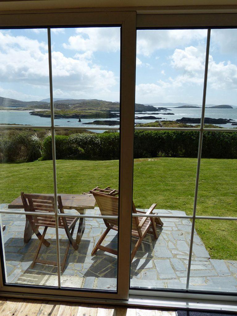 Ferienhaus mit Meerblick, Caherdaniel, Kerry, Irland, Derrynane Haven Aussicht Bild 2, Ferienhäuser mit Meerblick mieten in Irland - Cottages mit Seeblick mieten entlang des Ring of Kerry in Irland
