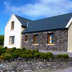 Holiday Cottage, Kerry, Ireland, Ard na Gaiote, House with Sea View, Rear Elevation, Holiday Home with Sea and Mountain Views for Rent in Ireland along the Ring of Kerry, VRBO