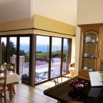 Holiday Cottage, Kerry, Ireland, Ard na Gaiote, Dining with Sea View, Pict.1, Holiday Home with Sea and Mountain Views for Rent in Ireland along the Ring of Kerry, VRBO