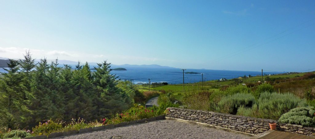 Holiday Cottage, Kerry, Ireland, Ard na Gaiote, From the Decking to the Sea, Holiday Home with Sea and Mountain Views for Rent in Ireland along the Ring of Kerry, VRBO
