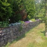 Heron Water Cottage, Garden. Rent an Irish Holiday Home with Sea View along the Wild Atlantic Way in Kerry, Rent a Cottage with Seaview in Ireland along the Ring of Kerry.