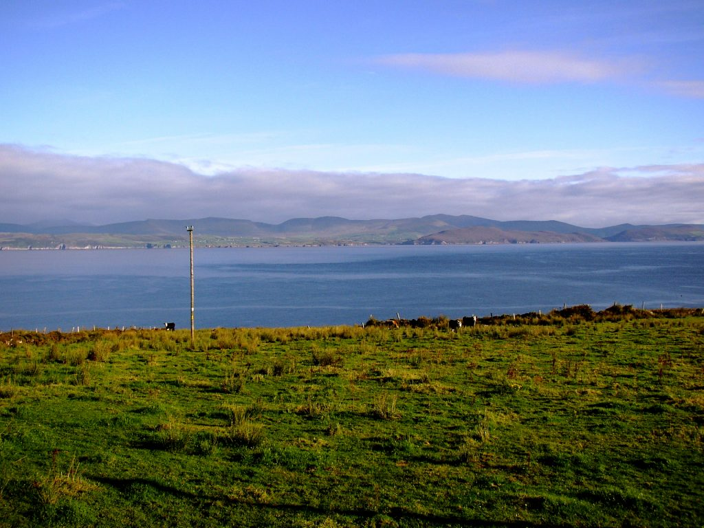 St. Ann's, The Sea View. Rent an Irish Cottage with Sea View along the Wild Atlantic Way in Kerry from www.fir-darrig.net. Rent a Holiday Home with Seaview in Ireland along the Ring of Kerry.