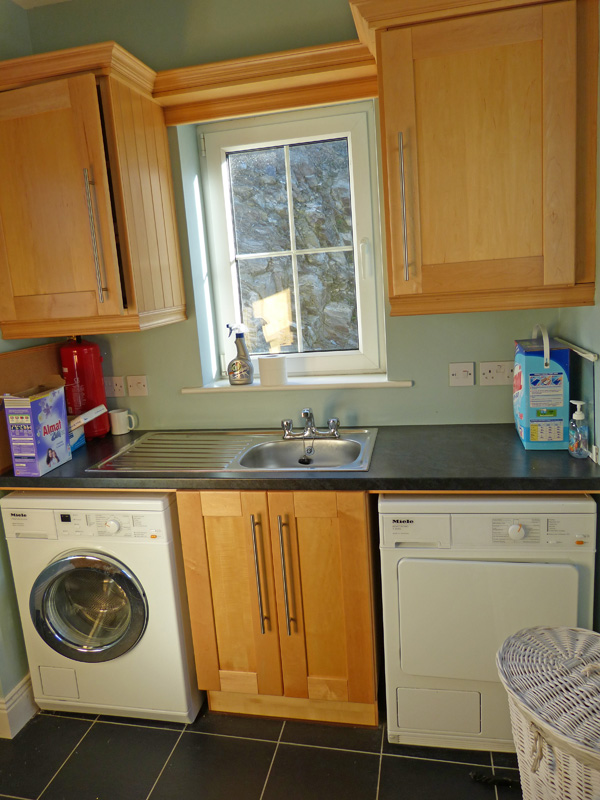 Holiday Home, Kerry, Ireland, Atlantic Dreams 07, Utility Room. 1, Rent an Irish Cottage with Sea View along the Wild Atlantic Way in Kerry, VRBO