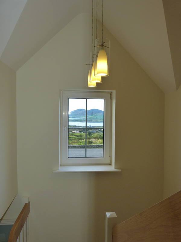 Holiday Home, Kerry, Ireland, Atlantic Dreams 12, Stair Case, Rent an Irish Cottage with Sea View along the Wild Atlantic Way in Kerry, VRBO