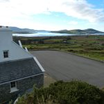 Holiday Home, Kerry, Ireland, Atlantic Dreams 13, House from above, Rent an Irish Cottage with Sea View along the Wild Atlantic Way in Kerry, VRBO