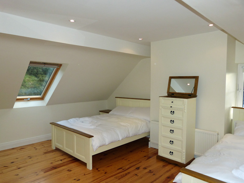 Holiday Home, Kerry, Ireland, Atlantic Dreams 16, Bedroom 4 with Sea and Mountain View, Pict. 1, Rent an Irish Cottage with Sea View along the Wild Atlantic Way in Kerry, VRBO