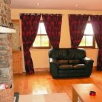 Chapel Cross 02, Living Room Picts. 2. Rent an Irish Holiday Home with Sea View along the Wild Atlantic Way in Kerry, Rent a Cottage with Seaview in Ireland along the Ring of Kerry.