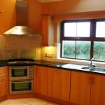 Chapel Cross, Kitchen cum Dining, Pict. 1. Rent an Irish Holiday Home with Sea View along the Wild Atlantic Way in Kerry, Rent a Cottage with Seaview in Ireland along the Ring of Kerry.