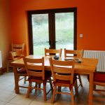 Chapel Cross, Kitchen cum Dining, Pict. 2. Rent an Irish Holiday Home with Sea View along the Wild Atlantic Way in Kerry, Rent a Cottage with Seaview in Ireland along the Ring of Kerry.