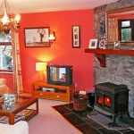 Holiday Home, Kerry, Ireland, Dellwood Lodge 03, Living Room 1, Pict. 1, Rent an Irish Cottage with Sea View along the Wild Atlantic Way in Kerry, VRBO