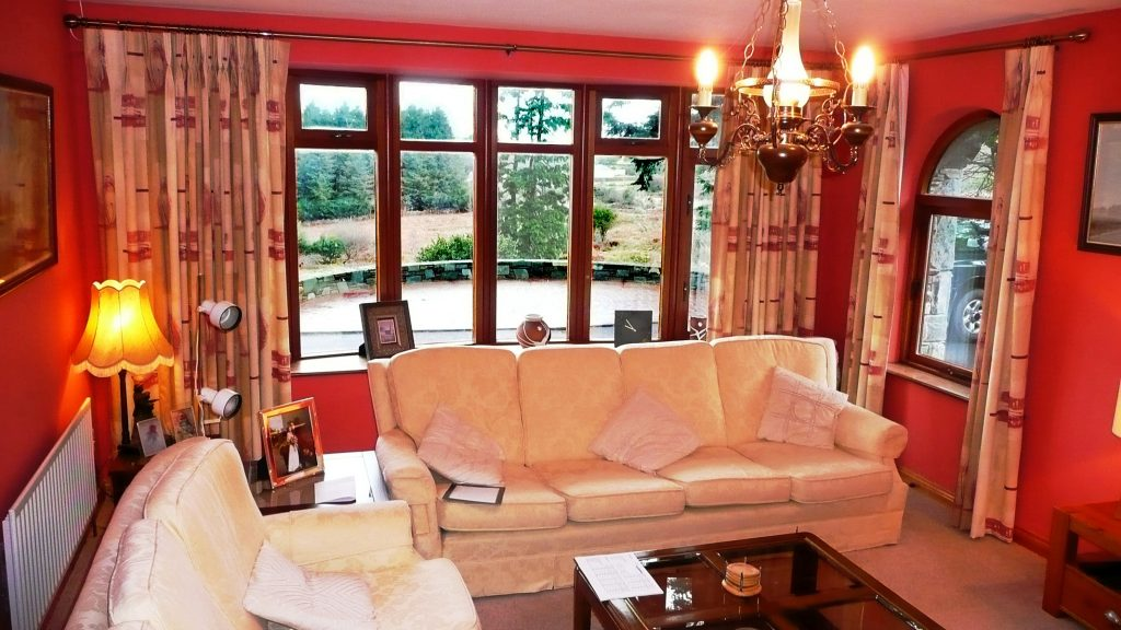 Holiday Home, Kerry, Ireland, Dellwood Lodge 05, Living Room 2, Picts. 1, Rent an Irish Cottage with Sea View along the Wild Atlantic Way in Kerry, VRBO
