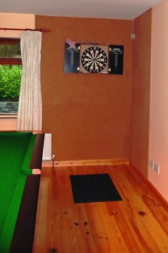 Holiday Home, Kerry, Ireland, Dellwood Lodge 18, Play Room Pict. 1, Rent an Irish Cottage with Sea View along the Wild Atlantic Way in Kerry