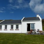 Holiday Home, Kerry, Ireland, Derrynane Haven 12, Rear Elevation, Rent an Irish Cottage with Sea View along the Wild Atlantic Way in Kerry