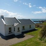 Holiday Home, Kerry, Ireland, Derrynane Haven 14, Frotn Elevation, Pict. 2, Rent an Irish Cottage with Sea View along the Wild Atlantic Way in Kerry