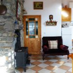 Heather Cottage, Kitchen Pict. 2. Rent an Irish Holiday Home with Sea View along the Wild Atlantic Way in Kerry, Rent a Cottage with Seaview in Ireland along the Ring of Kerry.