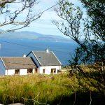 Noreens von oben, Ferienhäuser mit Meerblick mieten in Irland - Cottages mit Seeblick mieten entlang des Ring of Kerry in Irland
