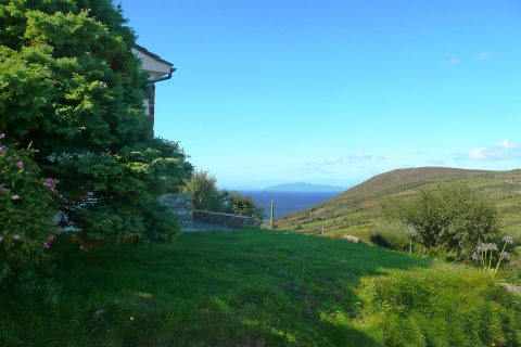 Pairc na Realta, Sea View, Pict. 1. Rent an Irish Holiday Home with Sea View along the Wild Atlantic Way in Kerry, Rent a Cottage with Seaview in Ireland along the Ring of Kerry.