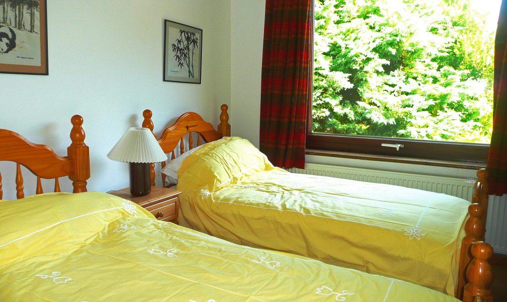 Ferienhaus, Kerry, Irland, Pairc na Realta, Schlafzimmer 2, Ferienhäuser mit Meerblick mieten in Irland - Cottages mit Seeblick mieten entlang des Ring of Kerry in Irland