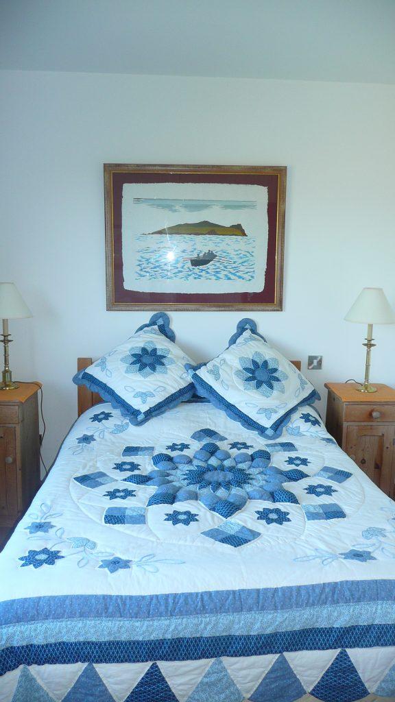 Ferienhaus, Kerry, Irland, Pairc na Realta, Schlafzimmer 1, Ferienhäuser mit Meerblick mieten in Irland - Cottages mit Seeblick mieten entlang des Ring of Kerry in Irland