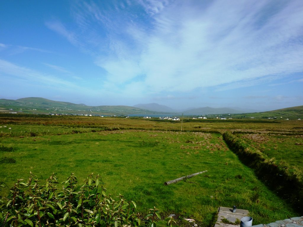 Ferienhaus, Kerry, Irland, Pattys 02, Blick vom Haus 2, Ferienhäuser mit Meerblick mieten in Irland - Cottages mit Seeblick mieten entlang des Ring of Kerry in Irland