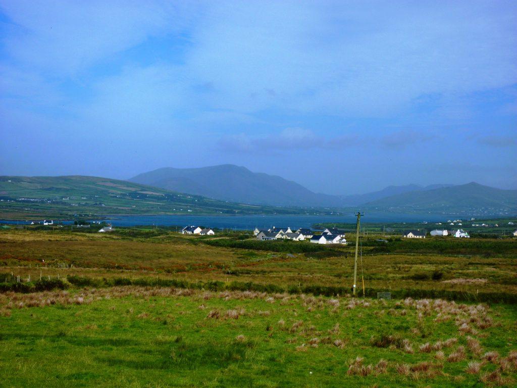 Ferienhaus, Kerry, Irland, Pattys 13, Blick vom Haus, Ferienhäuser mit Meerblick mieten in Irland - Cottages mit Seeblick mieten entlang des Ring of Kerry in Irland