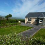 Ferienhaus, Kerry, Irland, Pattys 15, Blick mit Haus, Ferienhäuser mit Meerblick mieten in Irland - Cottages mit Seeblick mieten entlang des Ring of Kerry in Irland