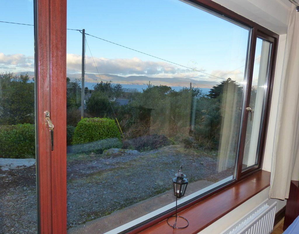 Ferienhaus, Kerry, Irland, Rockfield, Aussicht, Ferienhäuser mit Meerblick mieten in Irland - Cottages mit Seeblick mieten entlang des Ring of Kerry in Irland