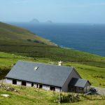 Ferienhaus mit Meerblick, Kerry, Irland, Skelligs Haus 01, House von oben, Ferienhäuser mit Meerblick mieten in Irland - Cottages mit Seeblick mieten entlang des Ring of Kerry in Irland