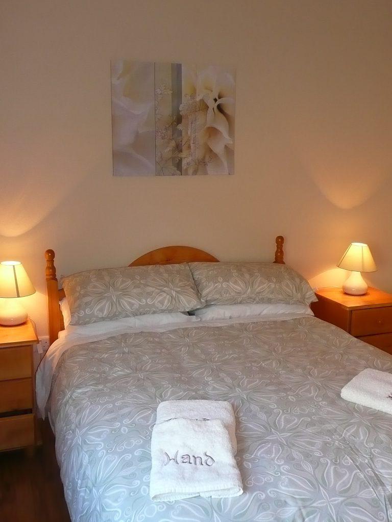 Ferienhaus, Kerry, Irland, Skelligs House 10, Schlafzimmer 1, Ferienhäuser mit Meerblick mieten in Irland - Cottages mit Seeblick mieten entlang des Ring of Kerry in Irland