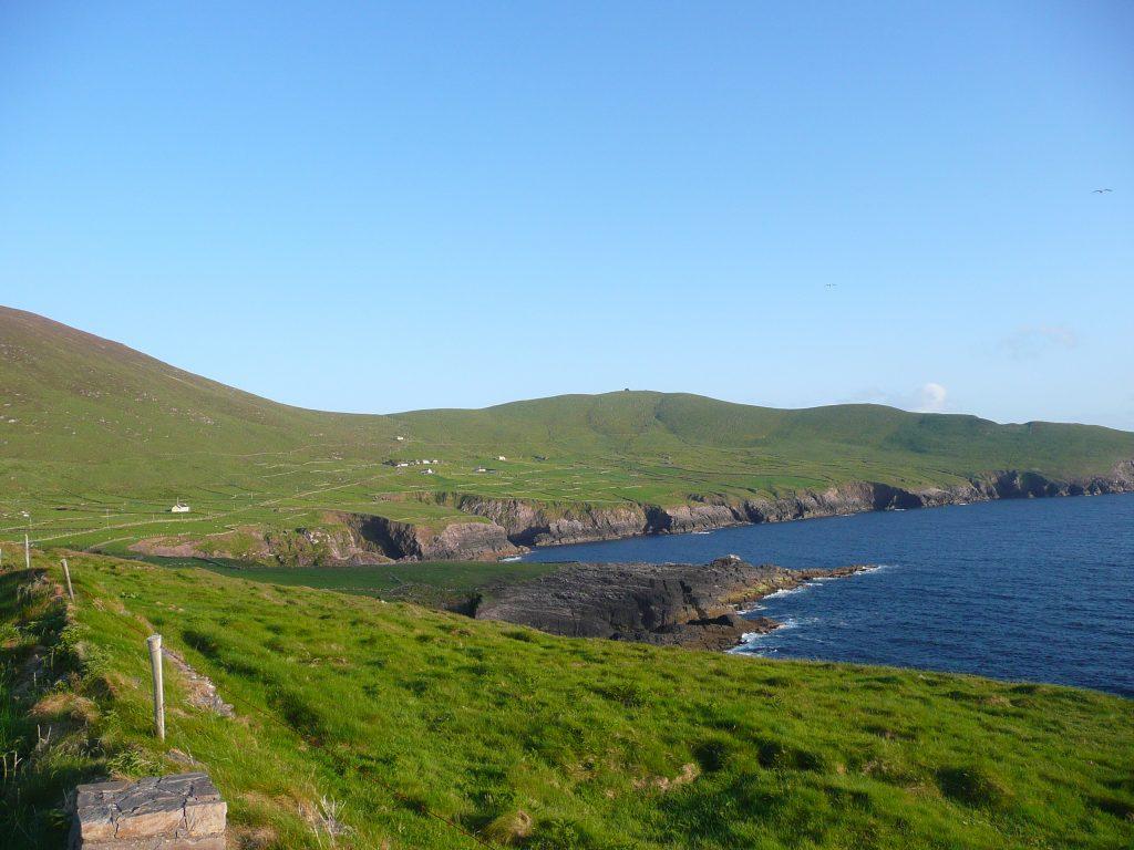 Ferienhaus, Kerry, Irland, Skelligs House 23, Haus aus der Ferne, Ferienhäuser mit Meerblick mieten in Irland - Cottages mit Seeblick mieten entlang des Ring of Kerry in Irland