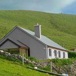 Ferienhaus, Kerry, Irland, Skelligs House 27, Haus von unten, Ferienhäuser mit Meerblick mieten in Irland - Cottages mit Seeblick mieten entlang des Ring of Kerry in Irland