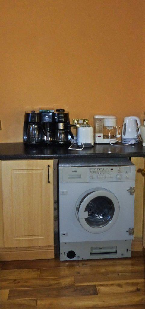Ferienhaus, Kerry, Irland, St.-Anns, Hauswirtschaftsraum, Ferienhäuser mit Meerblick mieten in Irland - Cottages mit Seeblick mieten entlang des Ring of Kerry in Irland