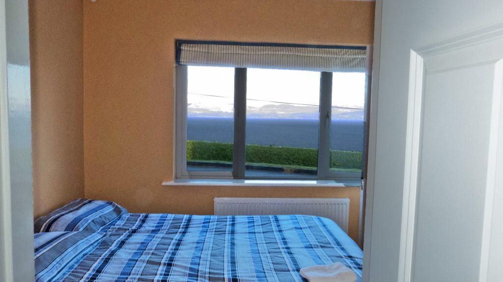 Ferienhaus, Kerry, Irland, St.-Anns, Schlafzimmer 2, Ferienhäuser mit Meerblick mieten in Irland - Cottages mit Seeblick mieten entlang des Ring of Kerry in Irland