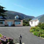 Ferienhaus, Kerry, Irland, Taobh na Greine 1, Haus von vorne, Ferienhäuser mit Meerblick mieten in Irland - Cottages mit Seeblick mieten entlang des Ring of Kerry in Irland