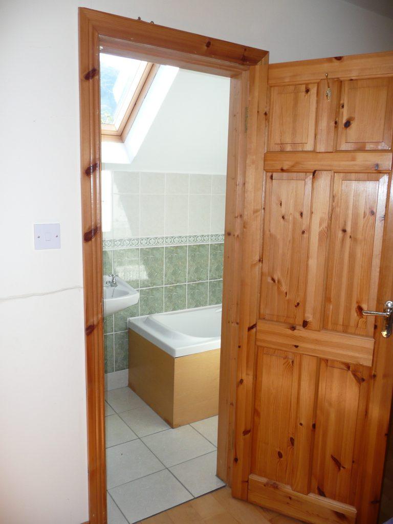 Ferienhäuser mit Meerblick mieten in Irland - Cottages mit Seeblick mieten entlang des Ring of Kerry in Irland, Ferienhaus, Kerry, Irland, Taobh na Greine 12.1, Eines der vier Bäder