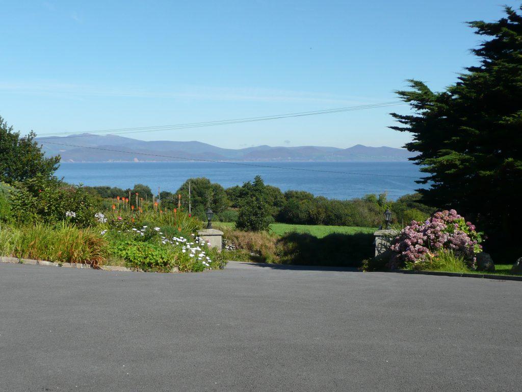 Ferienhaus, Kerry, Irland, Taobh na Greine 2, Aussicht, Ferienhäuser mit Meerblick mieten in Irland - Cottages mit Seeblick mieten entlang des Ring of Kerry in Irland