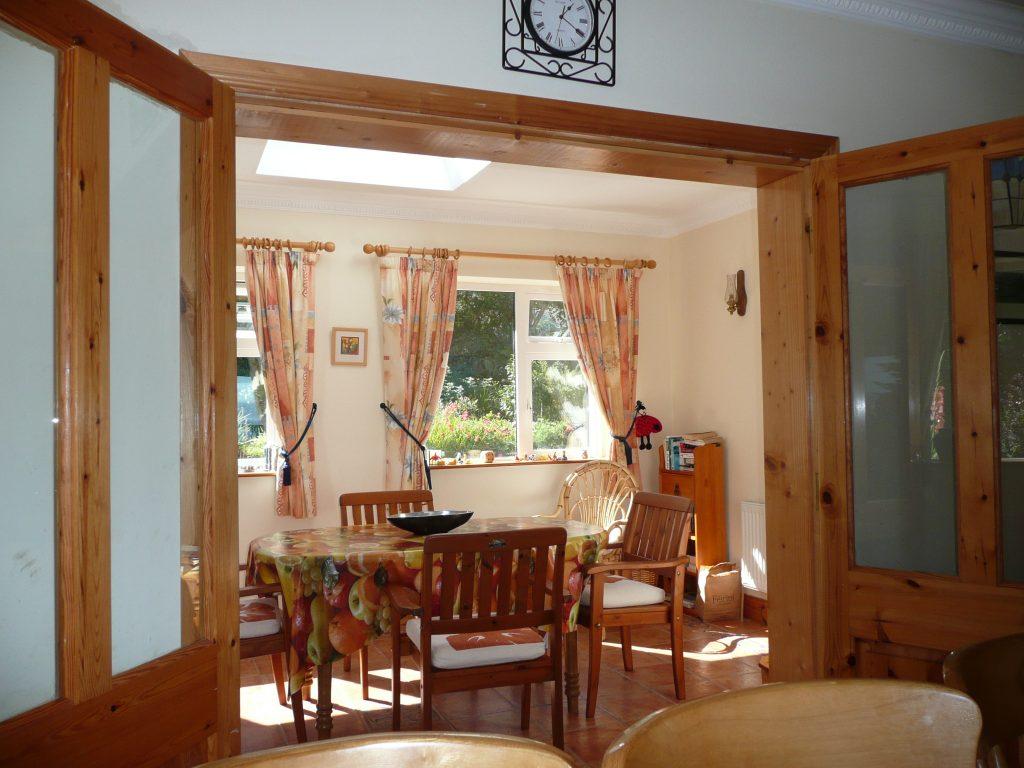 Ferienhäuser mit Meerblick mieten in Irland - Cottages mit Seeblick mieten entlang des Ring of Kerry in Irland, Ferienhaus, Kerry, Irland, Taobh na Greine 6, Wintergarten