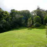 Yvonnes, the Garden overlooks the Sea but can not be seen into from anywhere. Rent an Irish Cottage with Sea View along the Wild Atlantic Way in Kerry from www.fir-darrig.net. Rent a Holiday Home with Seaview in Ireland along the Ring of Kerry.