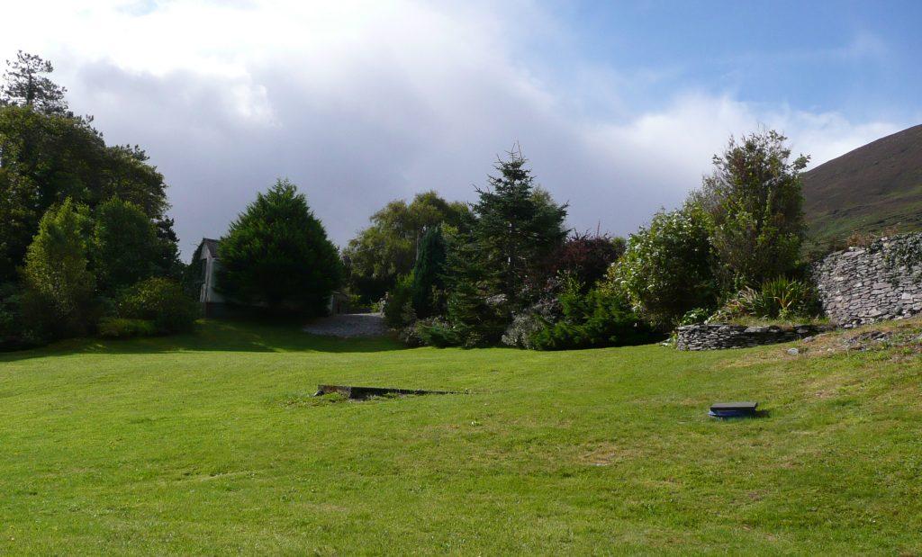 Ferienhaus, Kerry, Irland, Yvonnes 05, nochmals der Garten, Ferienhäuser mit Meerblick mieten in Irland - Cottages mit Seeblick mieten entlang des Ring of Kerry in Irland